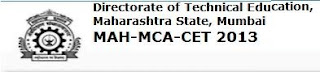 MAH-MCA-CET 2013 Result - dte.org.in