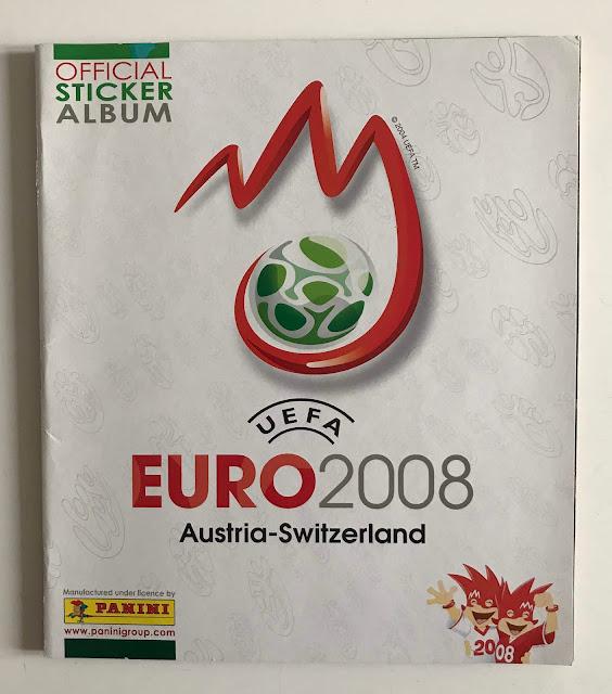Album Panini Euro 2008