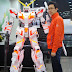 6 Foot Tall Paper Craft: Unicorn Gundam Destroy Mode + LED