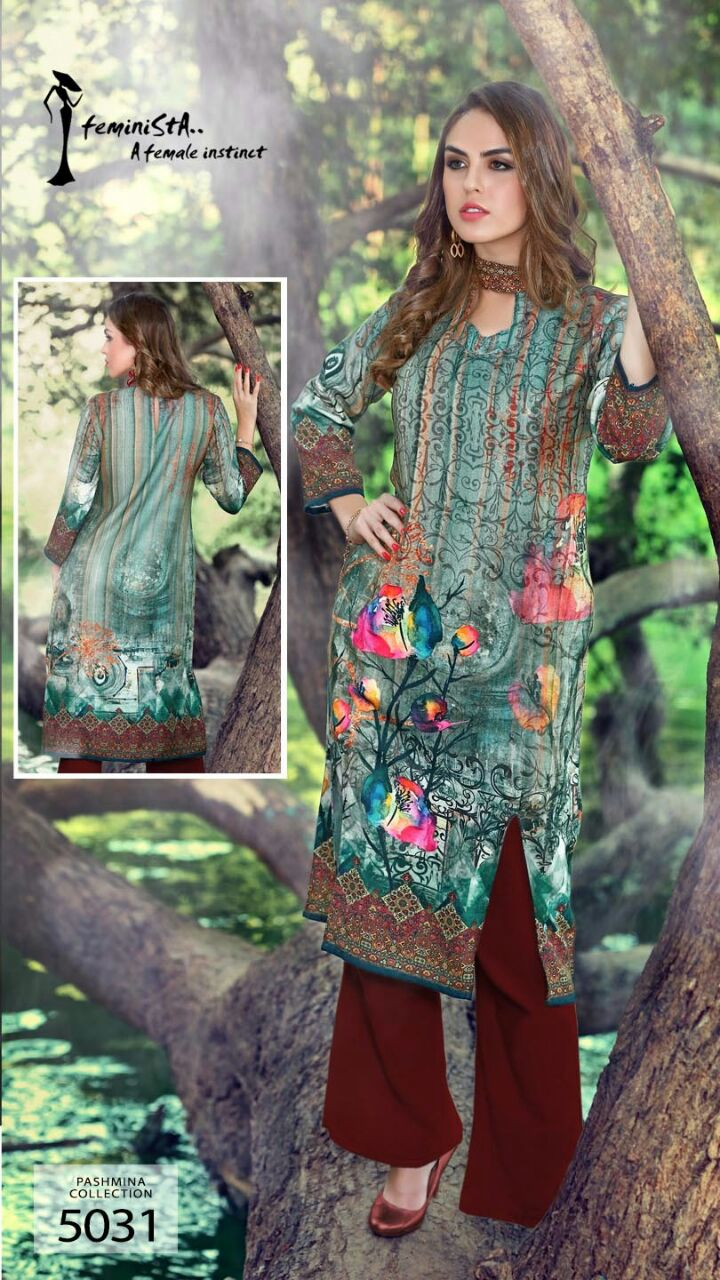Soul 8 – Buy Online Digital Pashmina Collection Kurti