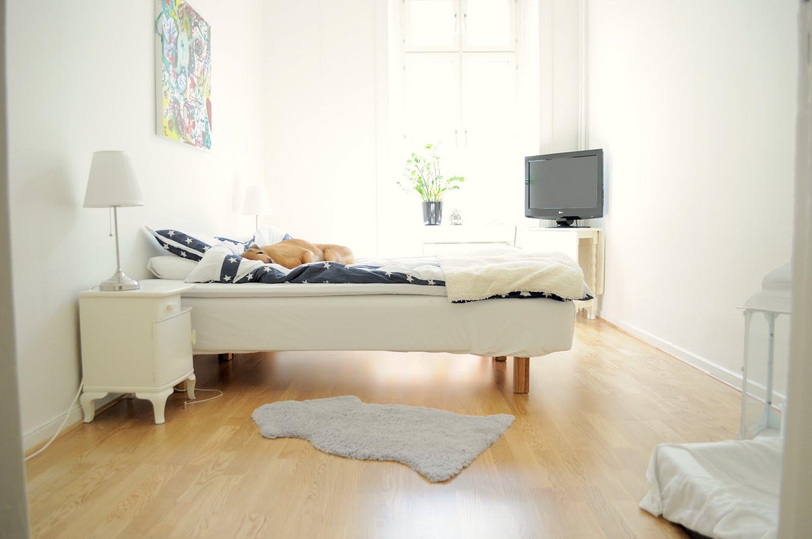 I huvudet på Markus Vårt sovrum och vardagsrum