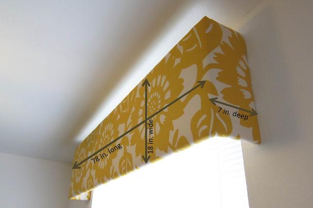 Inspired Whims Living Room Update Diy Cornice Box