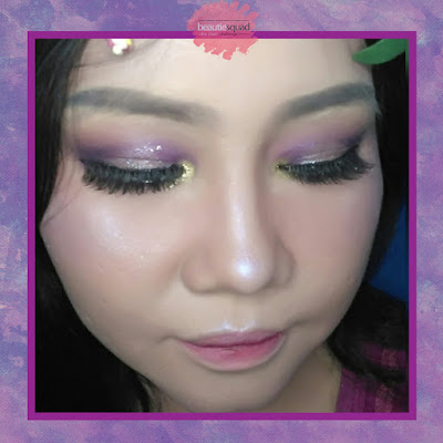 ULTRAVIOLET MAKEUP LOOK COLLABORATION WITH BEAUTIESQUAD