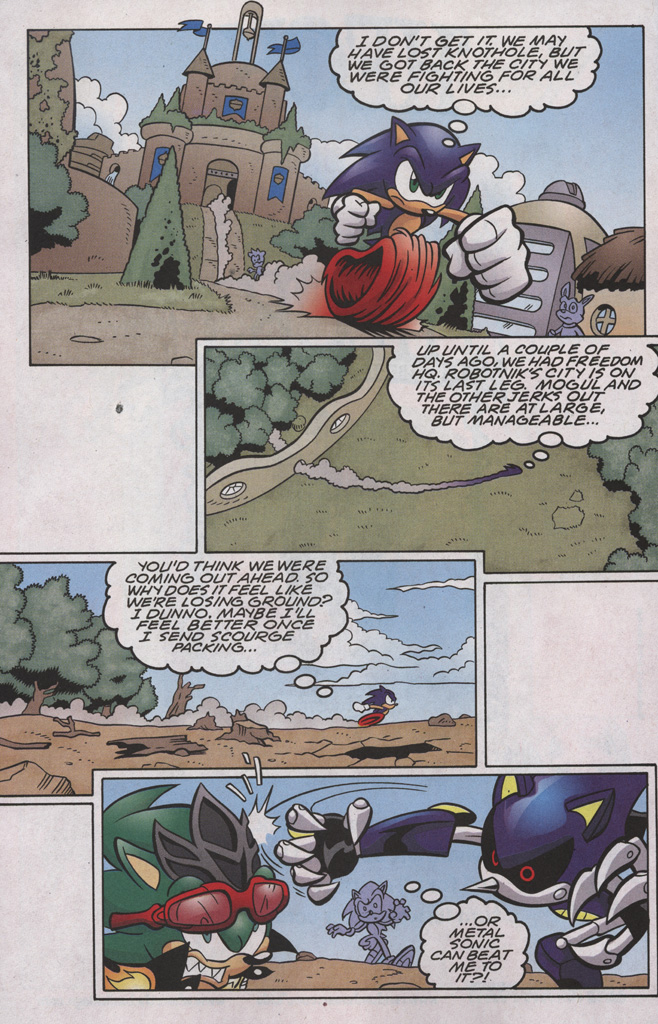 Read online Sonic The Hedgehog comic -  Issue #191 - 6