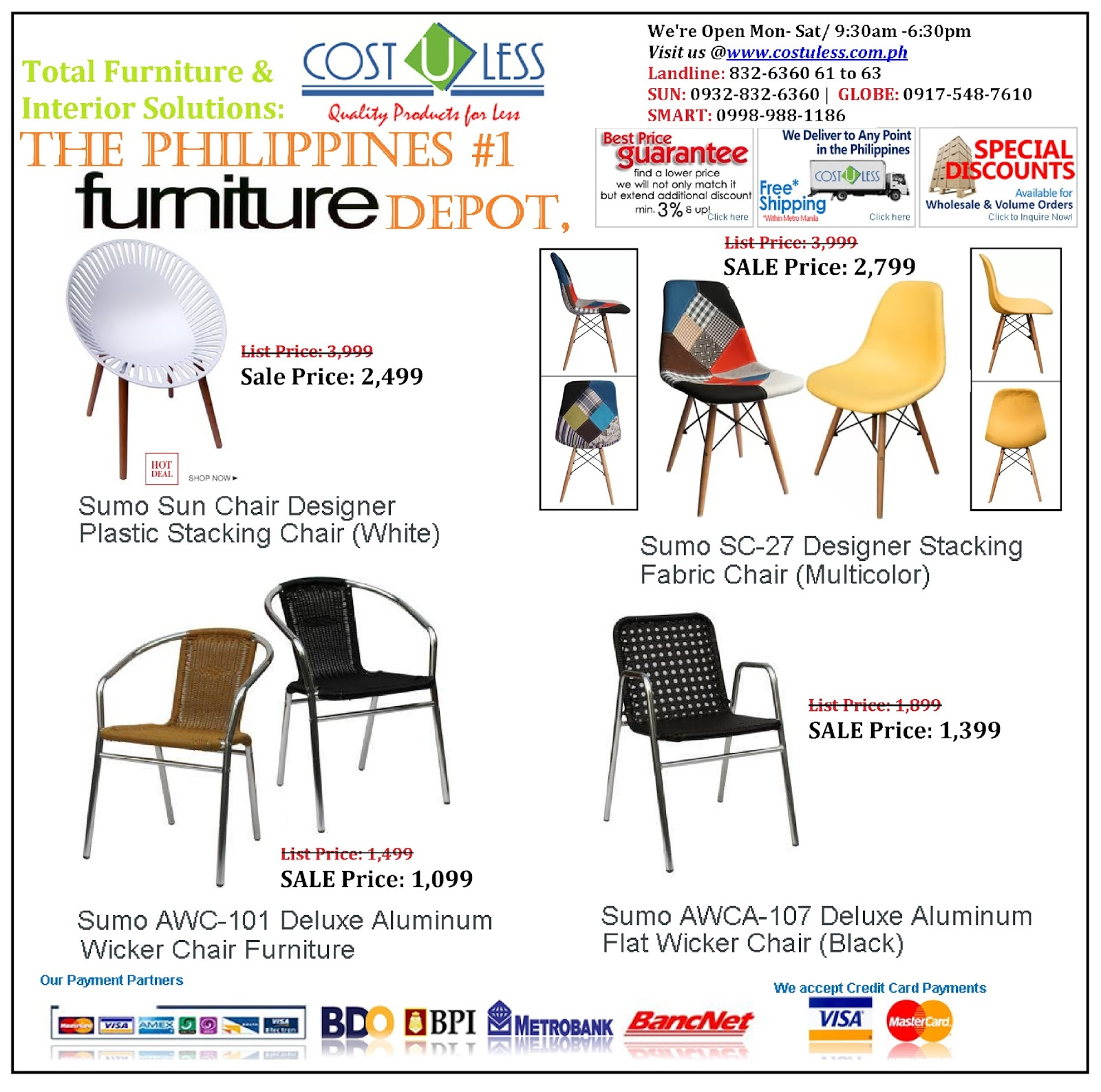 Restaurant Furniture For Less Cost U Less Office Furniture Manila Furniture Supplier Manila