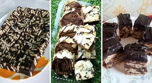 Resepi Kek Batik Lembut Sedap Mudah dan Simple (Biskut Marie & Milo)
