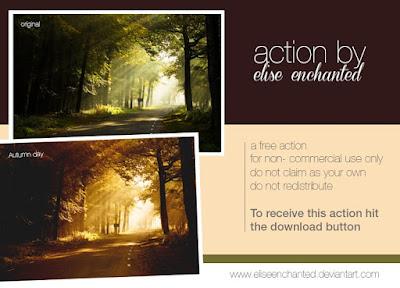 Chia Sẽ Action Hiệu Ứng Mùa Thu Photoshop