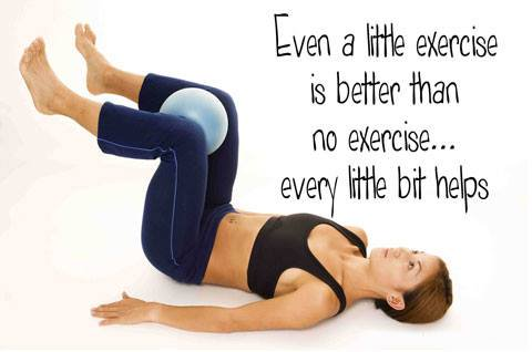 Aim For A Little Exercise Every Day