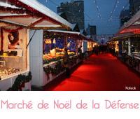 marché de Noël de la Défense 2016