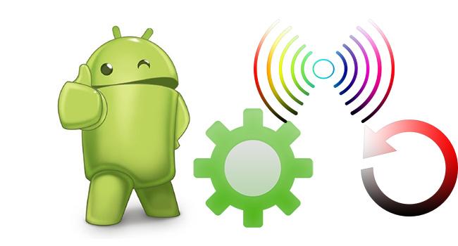 Androidde Ağ Ayarlarını Sıfırla-www.ceofix.com