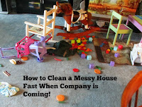 How to Clean a Messy House Fast When Company is Coming!