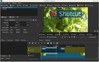 تحميل برنامج shotcut لمونتاج الفيديوهات للكمبيوتر اخر اصدار 2017