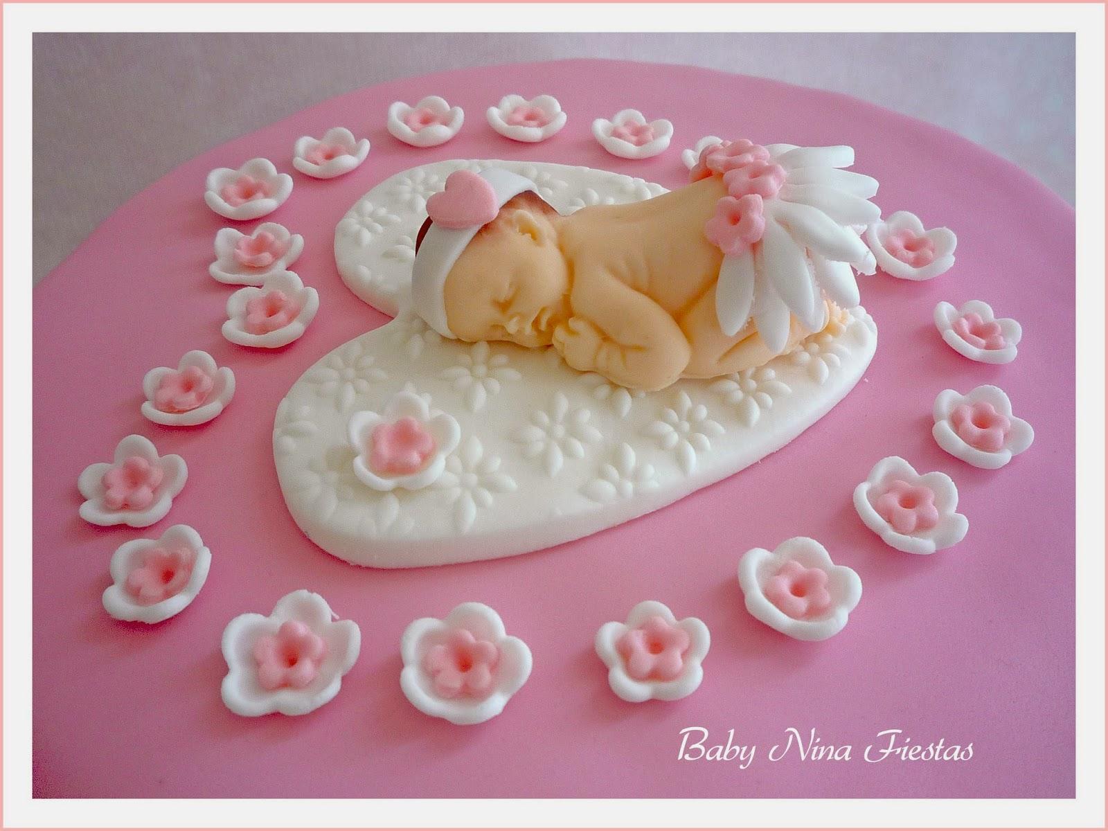Excellent Baby Nina Fiestas Tarta Baby Shower Para Joana Tarta Baby Shower  Nia Medustfo Gallery With Fiesta Baby Shower Nia