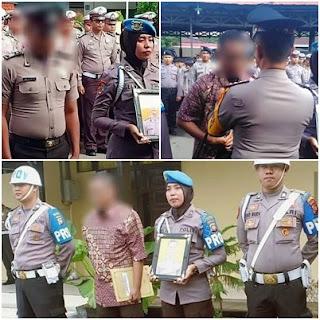 Wow !! Dua Personel Polresta Pontianak Dipecat Dengan Tidak Hormat
