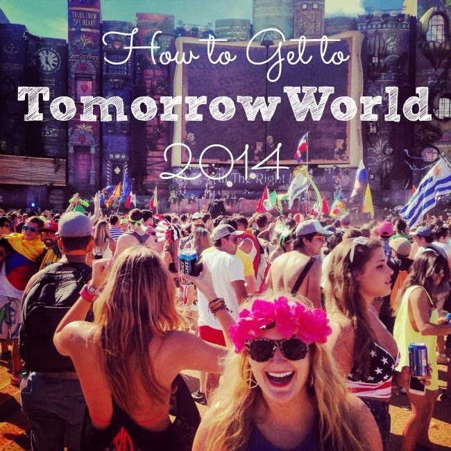 how to get to Tomorrowworld 2014