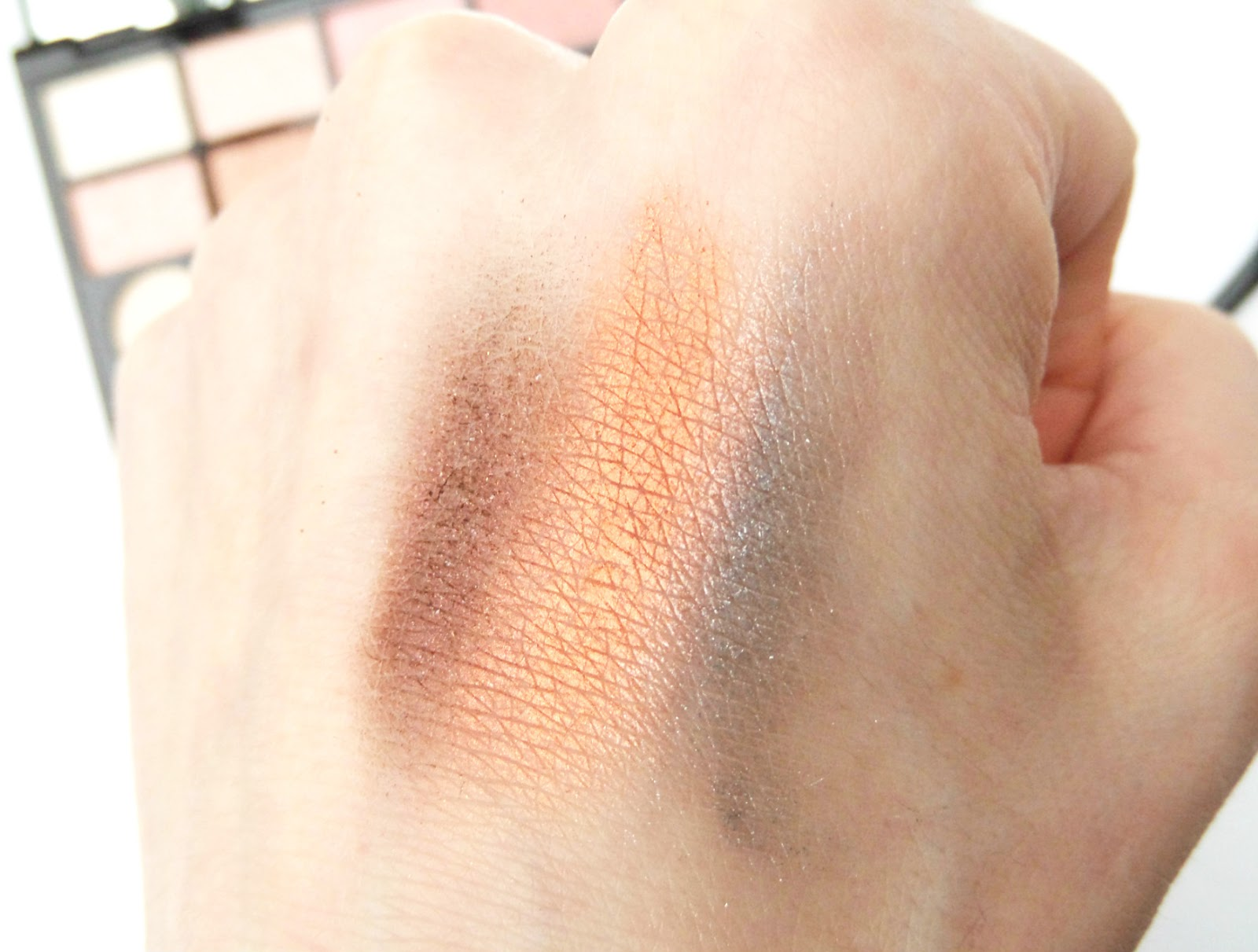 Makeup Revolution Girl Panic Eyeshadow Palette The Swatch