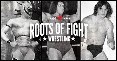 Roots of Wrestling T-Shirt Collection featuring Andre the Giant, Bret Hart & Rey Mysterio by Roots of Fight