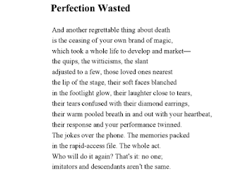 John updike perfection wasted