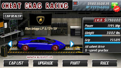 Cheat drag racing terbaru