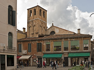 The Church of Santa Sofia seen from Strada Nova in Venice