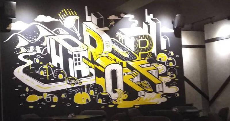 Desain Dinding Cafe Kekinian - Seratus n
