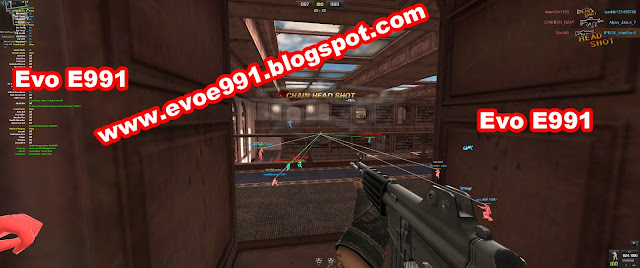 Cheat PB Garena (Point Blank Garena)  Real QC, Real AIM Dan Real HS