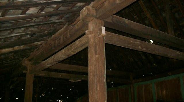 Rumah limasan soko 14 cm