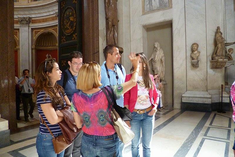 Sala della Rotonda, Museus Vaticanos