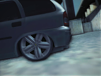 GTA SA - Chevrolet Corsa Wagon 2001 Baixo de 18 do Astra GSI 3