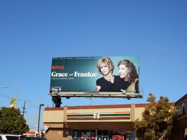 Grace and Frankie netflix series billboard