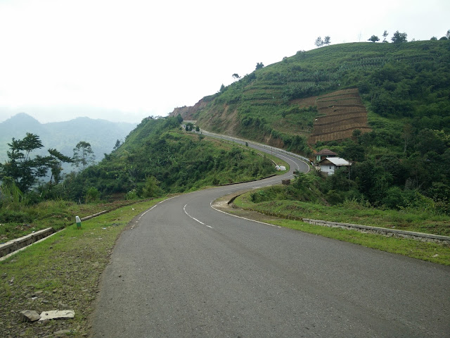 Pemandangan di Talegong, Garut