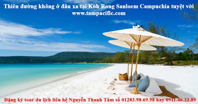 Thiên đường không ở đâu xa tại Koh Rong Sanloem Campuchia tuyệt vời