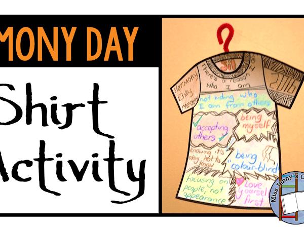 Harmony Day: T-Shirt Activity