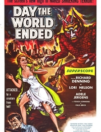 Day the World Ended   Bmovies