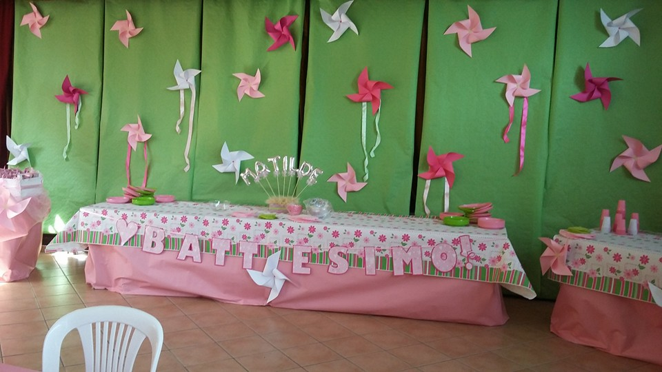 Favorito Addobbo sala battesimo TM05
