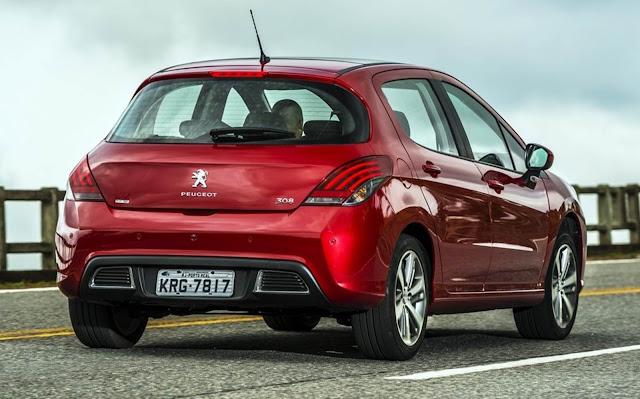 Peugeot 408 2018 - fim de linha