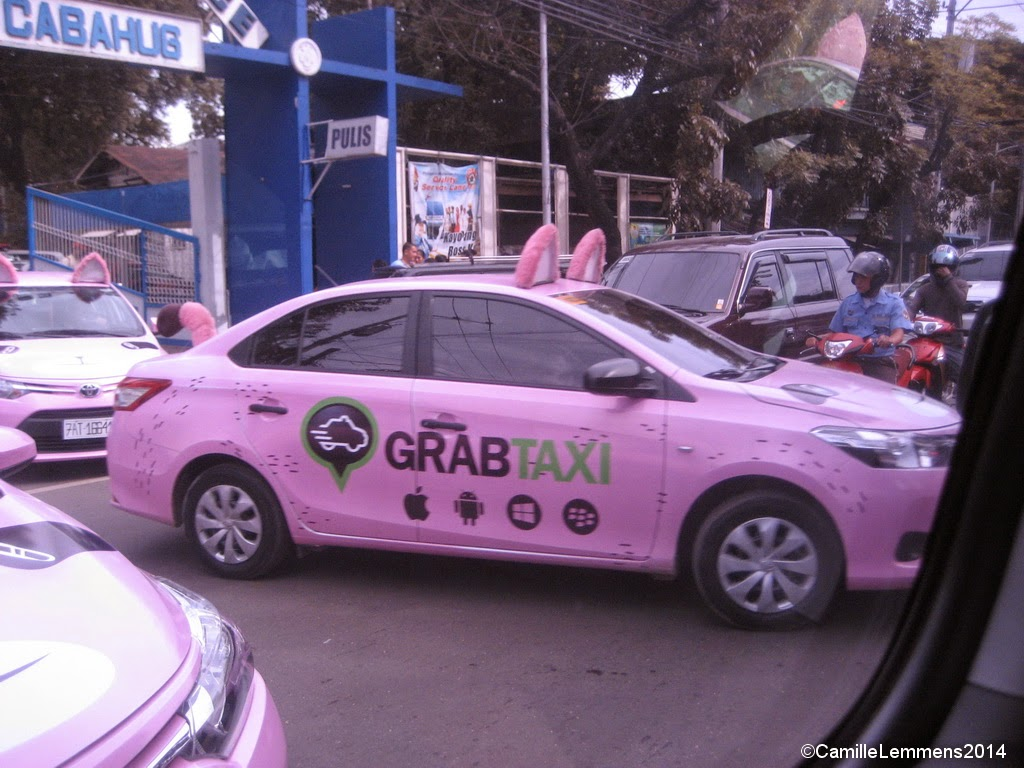 New taxi brand in Cebu City, Philippines