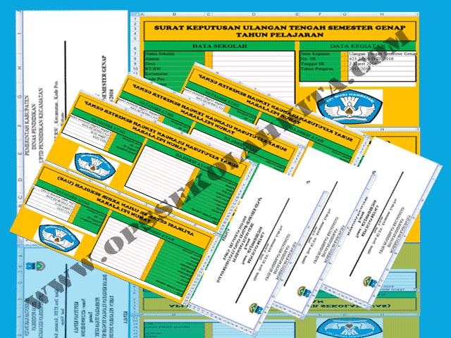 Download Aplikasi Cetak SK Kegiatan UTS, TRY OUT, UAS DAN US Format Excel.xlsx