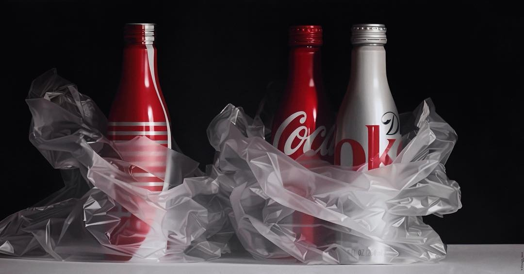 07-Coca-Cola-Pedro-Campos-Realistic-Paintings-Coupled-with-Classic-Items-www-designstack-co