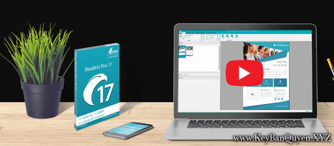 Download Readiris Pro 17 Full Key, Phần mềm xử lý PDF và OCR cho Windows