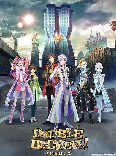 عرض دعائي جديد لأنمي Double Decker! Doug & Kirill والقادم في أكتوبر  انمي 4يو