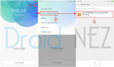 Update Mi 5S Plus Ke MIUI 9 Stable Tanpa PC Via Updater
