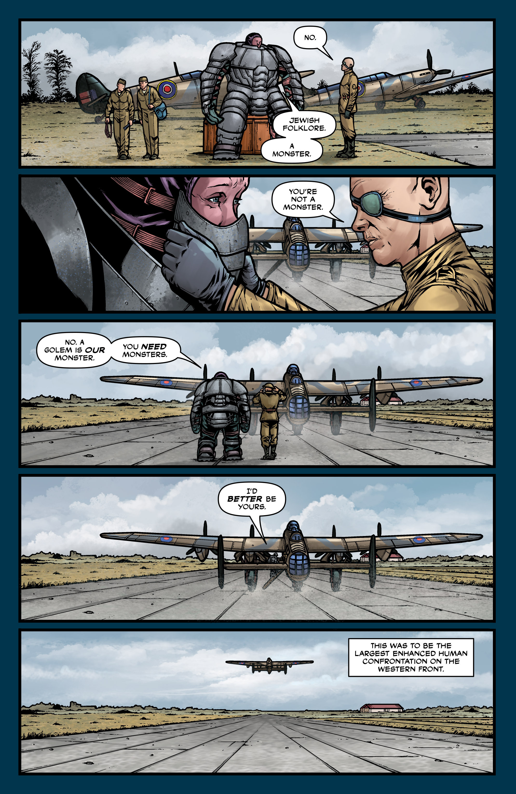 Read online Uber comic -  Issue #26 - 6