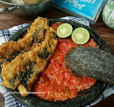 Wisata Kuliner Nusantara Fillet Lele Kriuk & Sambal Bawang