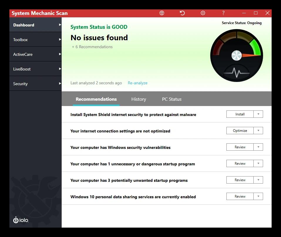 System Mechanic Pro 18.6.0.141 Free Download