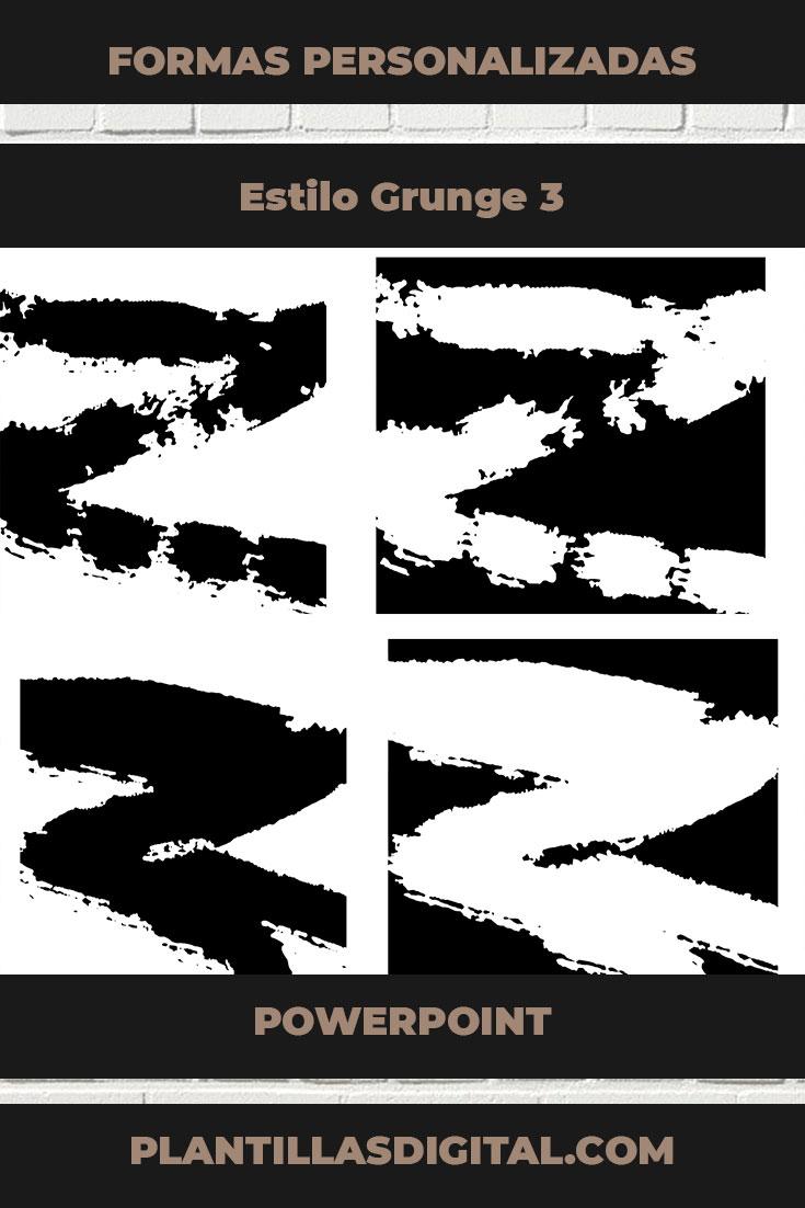 formas personalizadas estilo grunge 3 1