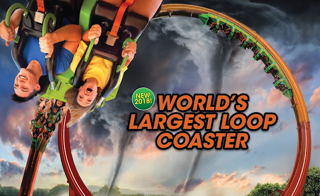 six flags great america new ride 2018 largest loop