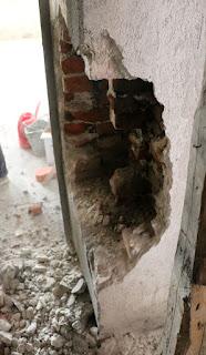 Demolition begins immediately