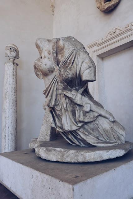 Rooman nähtävyyksiä, Santa Maria degli Angelin luostaripiha