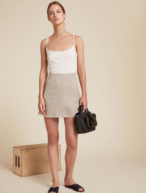 Reformation Fifi skirt, $98, available at Reformation